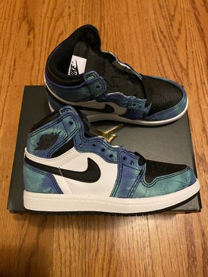 NEW Preschool Air Jordan 1 Retro High Tie Dye - 11c for Sale in San Francisco, CA