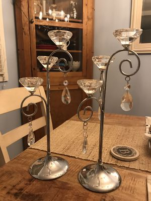 Candle sticks/decor for Sale in Hendersonville, TN