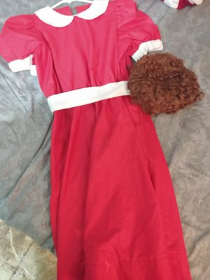 Annie girl costume for Sale in Alafaya, FL