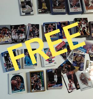 Big Lot of Basketball Cards FREE for Sale in Chicago, IL