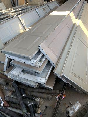 Used 16x7 Garage Door $300- complete for Sale in Phoenix, AZ