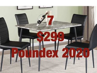 Dining sets. Assembly required. Free delivery. for Sale in Santa Ana,  CA