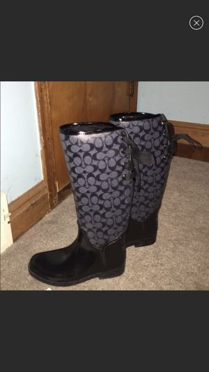 Coach rain boots for Sale in West Mifflin, PA
