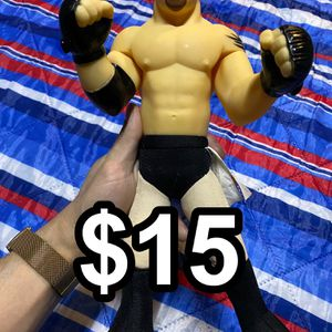 Vintage WWE WCW Wrestling Goldberg Plush & Plastic Figure Play by Play (1999) for Sale in Ontario, CA