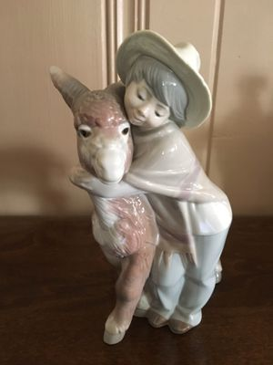 Lladro Boy With Donkey Figurine for Sale in Arcadia, CA