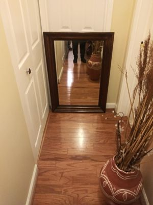 Decorative Wood Framed Mirror for Sale in Gaithersburg, MD