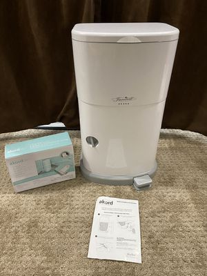Janibell Akord Diaper Disposal and Liners for 280 Slim Model for Sale in Vancouver, WA