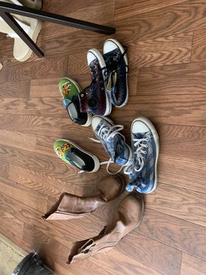 Size 8 shoes, vans, Marc Jacobs, & boots. for Sale in OH, US