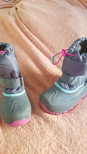 Snow/Rain boots Girls size 2 for Sale in Fullerton, CA