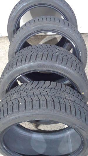 Newer Bridgestone Blizzak ws90 245/40R18 for Sale in Fairfax, VA