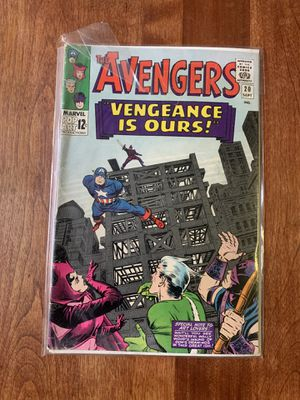The Avengers issue #20 Grade 3.0 GD for Sale in Gloversville, NY
