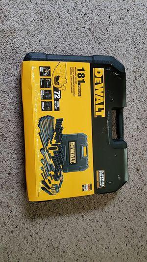 DeWalt 181 pc. Mechanics Tool Set for Sale in Lancaster, OH