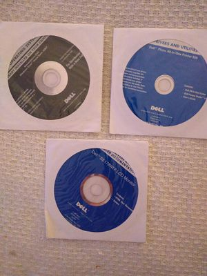Dell Computer Reinstallation Software - Complete set for Sale in Spring Hill, FL