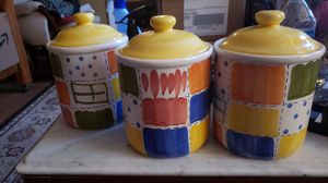 Ceramic\Porcelain 5 pound Spice Jars..! for Sale in Ridley Park, PA