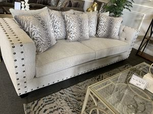 CUSTOM MADE SOFA & LOVE SEAT (financing available, $50 down) for Sale in Modesto, CA