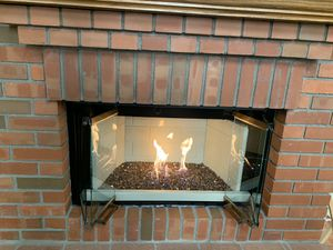 Fire Log set with grate for Sale in Chino Hills, CA