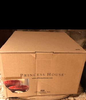 Princess House Pasta Set Of 4 for Sale in Downey, CA