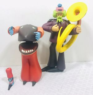 Vintage 2000 McFarlane Toys Subafilms The Beatles Yellow Submarine figures for Sale in Central Falls, RI