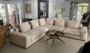 Manotti Italian Upscale Sectional Sofa Couch for Sale in Miami, FL