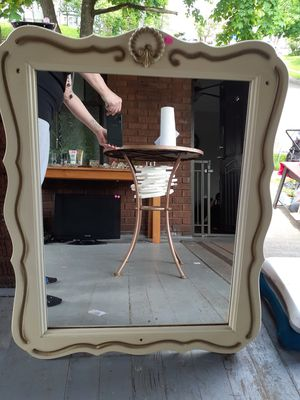 Antique/Vintage Wooden Mirror for Sale in Massillon, OH