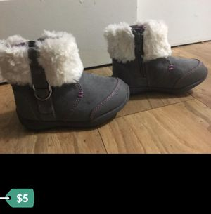 Little girls boots size 5 for Sale in Bellevue, WA