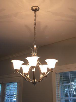 5 light chandelier for Sale in Glen Allen, VA