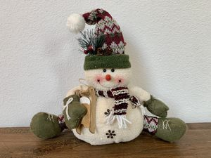 Snowman Plush Toy Christmas Decoration Xmas Stuffed Animal for Sale in Irvine, CA