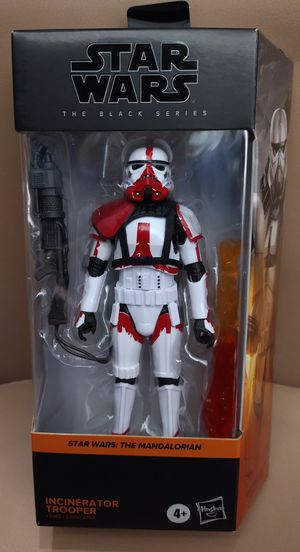 Star Wars Incinerator Trooper Black Series 6 Inch Action Figure (The Mandalorian) for Sale in ROWLAND HGHTS, CA
