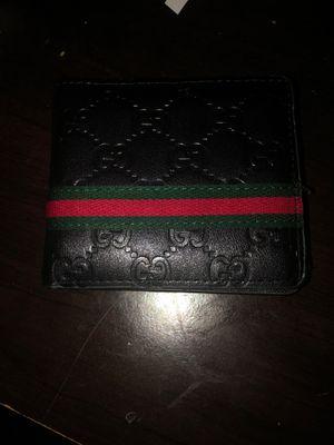 Black Gucci wallet for Sale in Rancho Cordova, CA