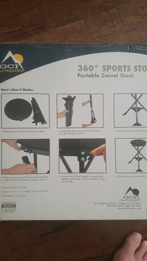 Folding camp stool for Sale in CORP CHRISTI, TX