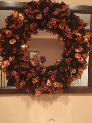 Halloween Wreath for Sale in Nuevo, CA