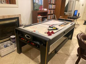 Air hockey / pool table for Sale in Silver Spring, MD