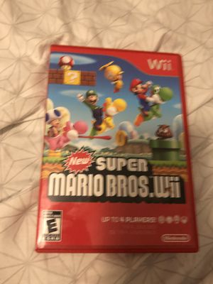 New super Mario bros Wii for Sale in Kennedale, TX