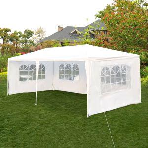 10x20 ft Party Tent Outdoor Heavy Duty Gazebo Wedding Canopy in White for Sale in Henderson, NV