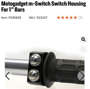 "7/8"" Motogadget M-switch - Handlebar Switch for Sale in Corona, CA"