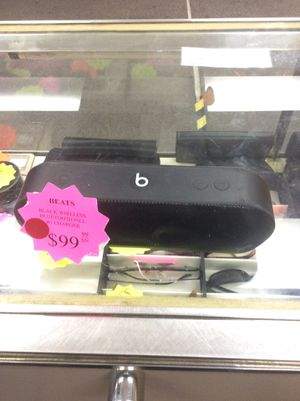 Beats black wireless Bluetooth speaker (Inventory code 929-149-3339) for Sale in Sacramento, CA