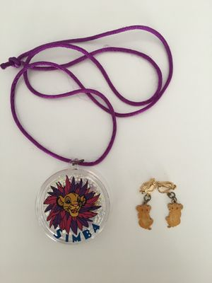 Vintage Disney Lion King - Simba children's jewelry for Sale in Lilburn, GA