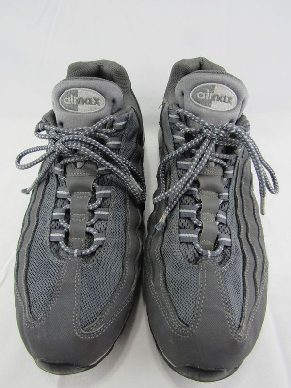NIKE AIR MAX 95 DARK WOLF GREY BLACK RUNNING SHOES SIZE 13