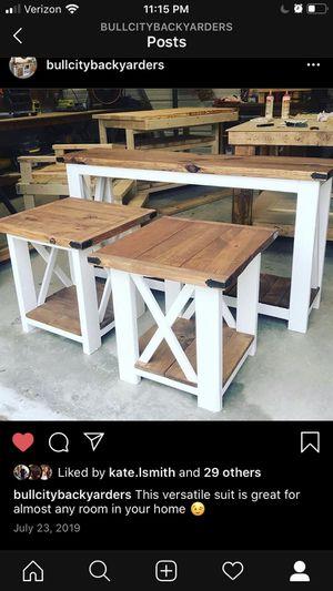 Custom built Bedroom set. for Sale in Durham, NC