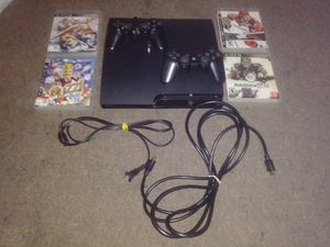 PlayStation 3 w/ Games & 2 Controllers for Sale in Los Angeles, CA