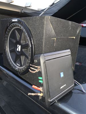 Kicker and amp for Sale in Baldwin Park, CA