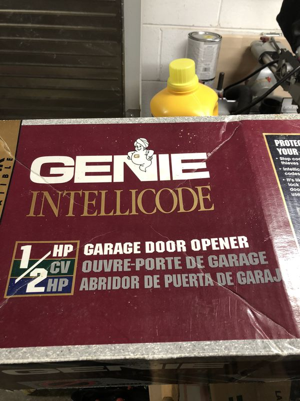 Genie garage door opener,