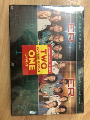 ER Seasons 1 & 2 DVD set - unopened for Sale in Falls Church, VA