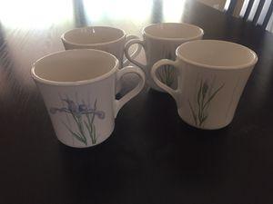 Corningware Iris Pattern Mugs for Sale in Scottsdale, AZ