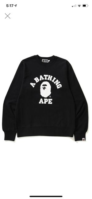 Bathing Ape BAPE Crew Sweatshirt - XL for Sale in Detroit, MI