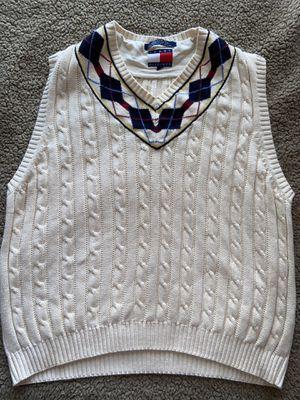 Men's medium Tommy Hilfiger sweater vest for Sale in San Antonio, TX