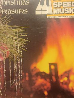 Easy Play Speed Music Vol 66 Christmas Treasures 1976 Vintage Collectible for Sale in New Smyrna Beach,  FL