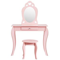 Kids Princess Makeup Dressing Play Table Set with Mirror for Sale in Diamond Bar,  CA
