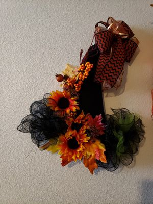 Halloween and Fall Wreaths for Sale in Crestview, FL