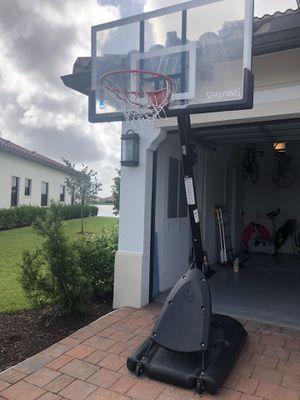 """NBA Spaulding 54"""" basketball hoop for Sale in FL, US"""
